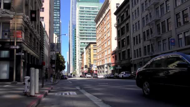Pouliční scéna v San Franciscu, Kalifornie, USA, přibližně červen 2018