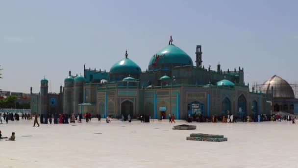 The Blue Mosque in Mazar-i-Sharif, North Afghanistan, in 2019