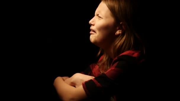 Smutná dospívající dívka7. 4K