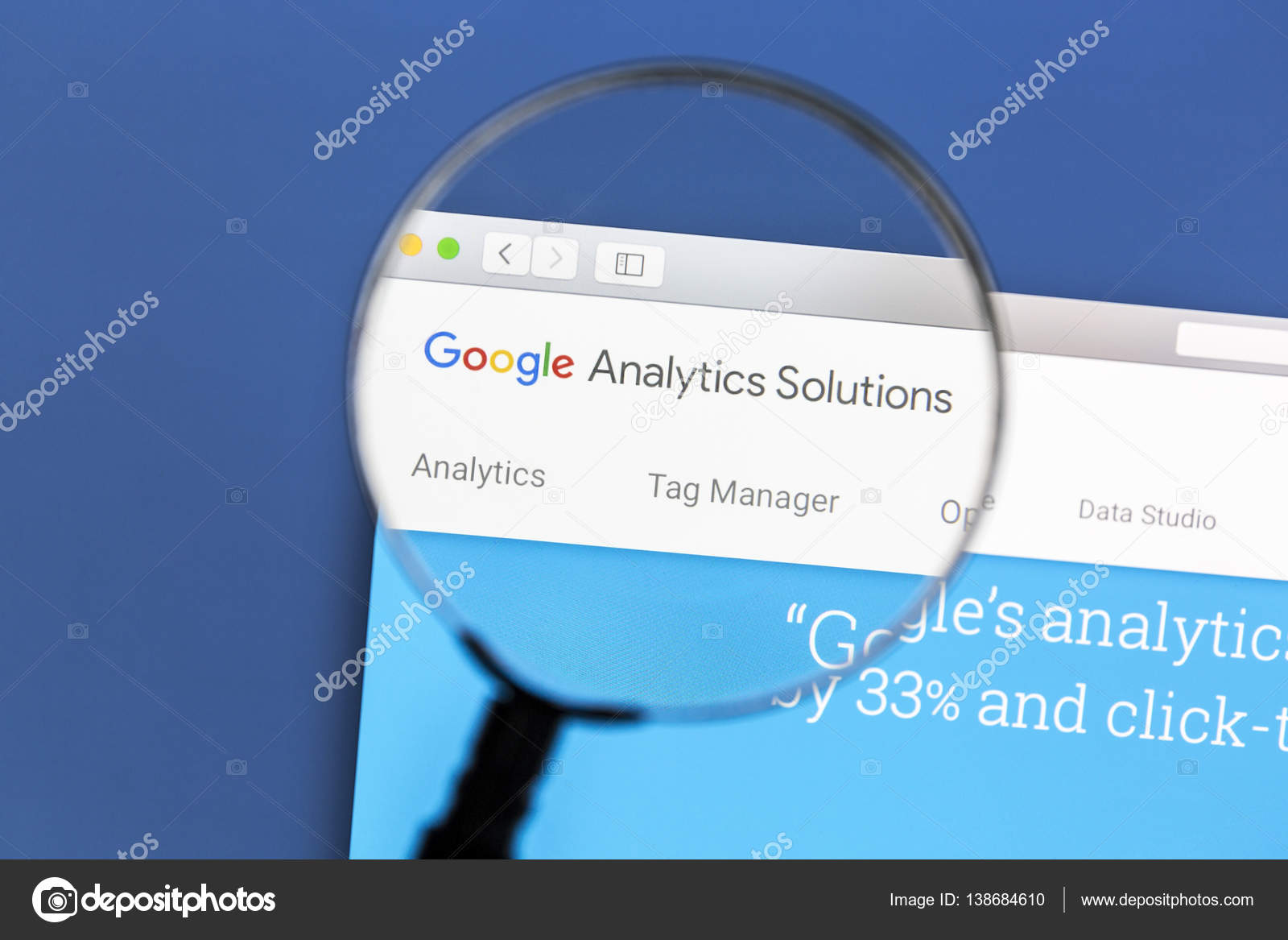 Google Analytics website – Stock Editorial Photo © ibphoto #138684610