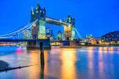 Tower bridge, Londýn, Velká Británie