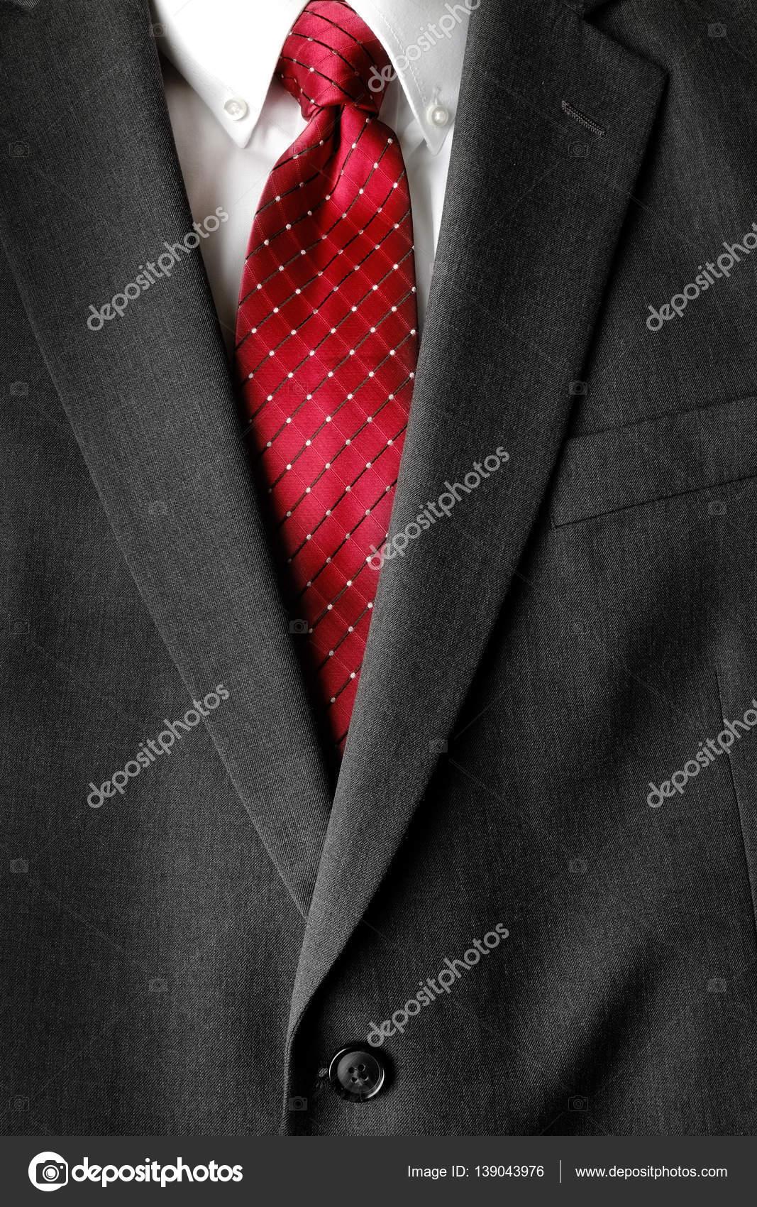 Overhemd Voor Pak.Zakelijke Pak Wit Overhemd Rode Stropdas Formele Dragen Fashion