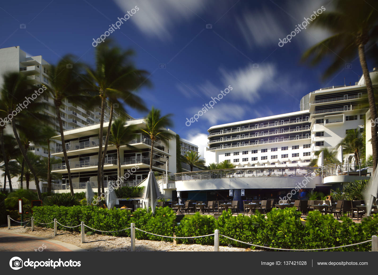 Ritz Carlton South Beach Redaktionelles Stockfoto C Felixtm 137421028