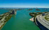 Miami Beach Biscayne Bay Florida