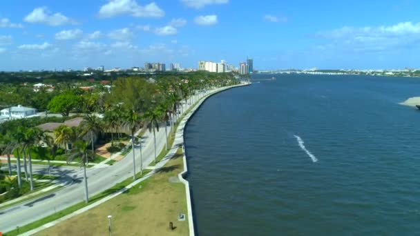 Drone shot West Palm Beach FL WPB 4k 60p