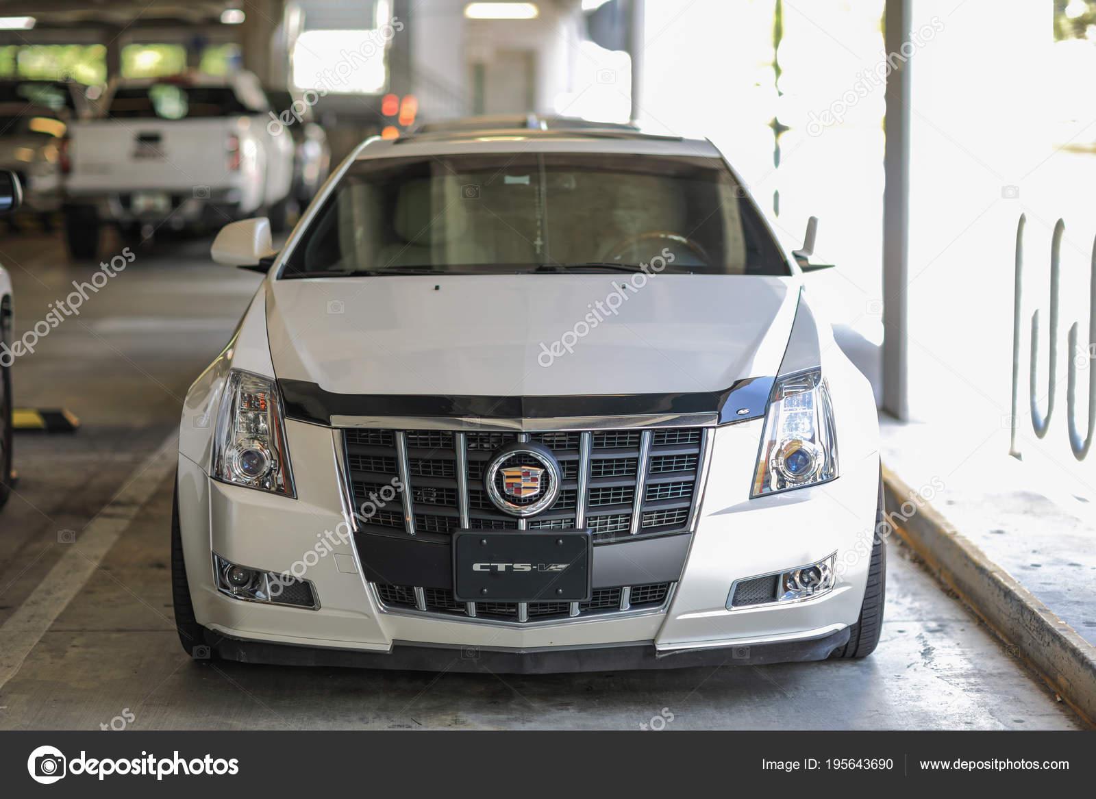 Front Shot Of A Cadillac Cts V Sports Car Stock Editorial Photo