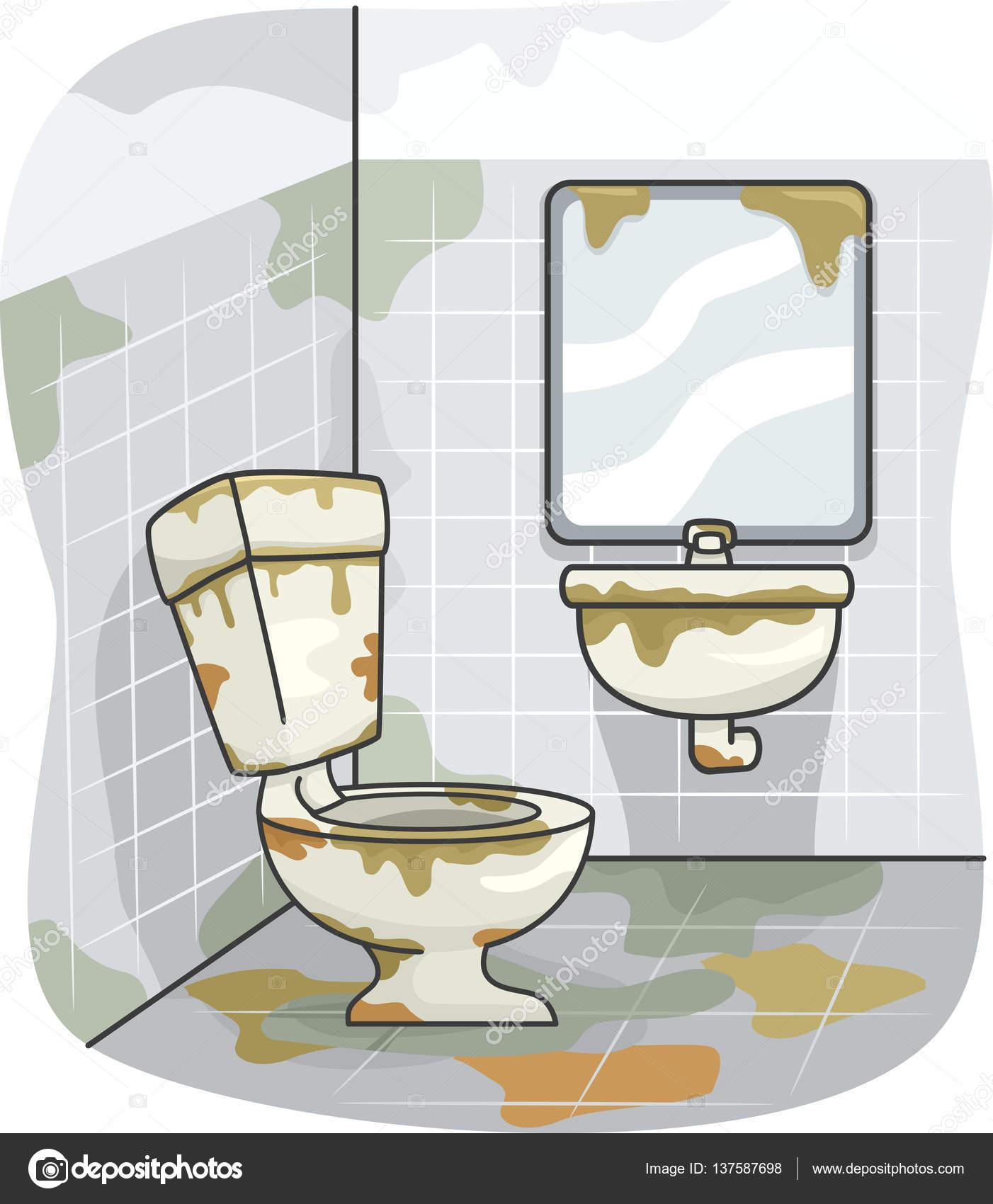 Dirty Bathroom Pics: ストック写真 © Lenmdp #137587698