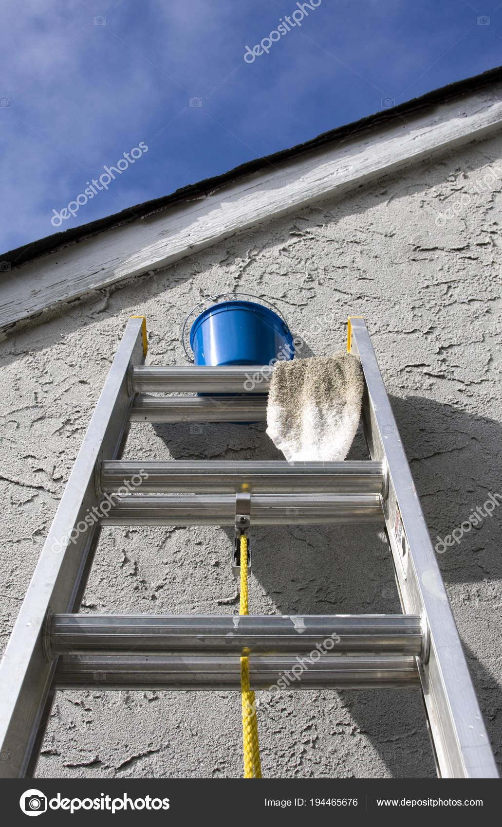 Painting Materials Ladder Home Wall Stock Photo C Surpasspro