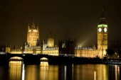 Photo House of Parliament and Big Ben in London, United Kingdom