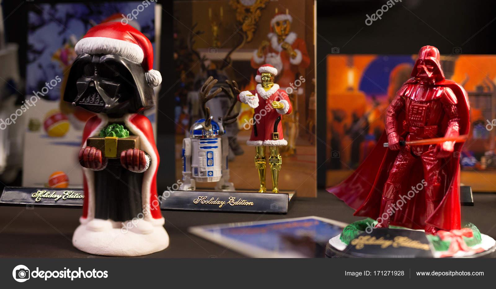 star wars weihnachten redaktionelles stockfoto. Black Bedroom Furniture Sets. Home Design Ideas