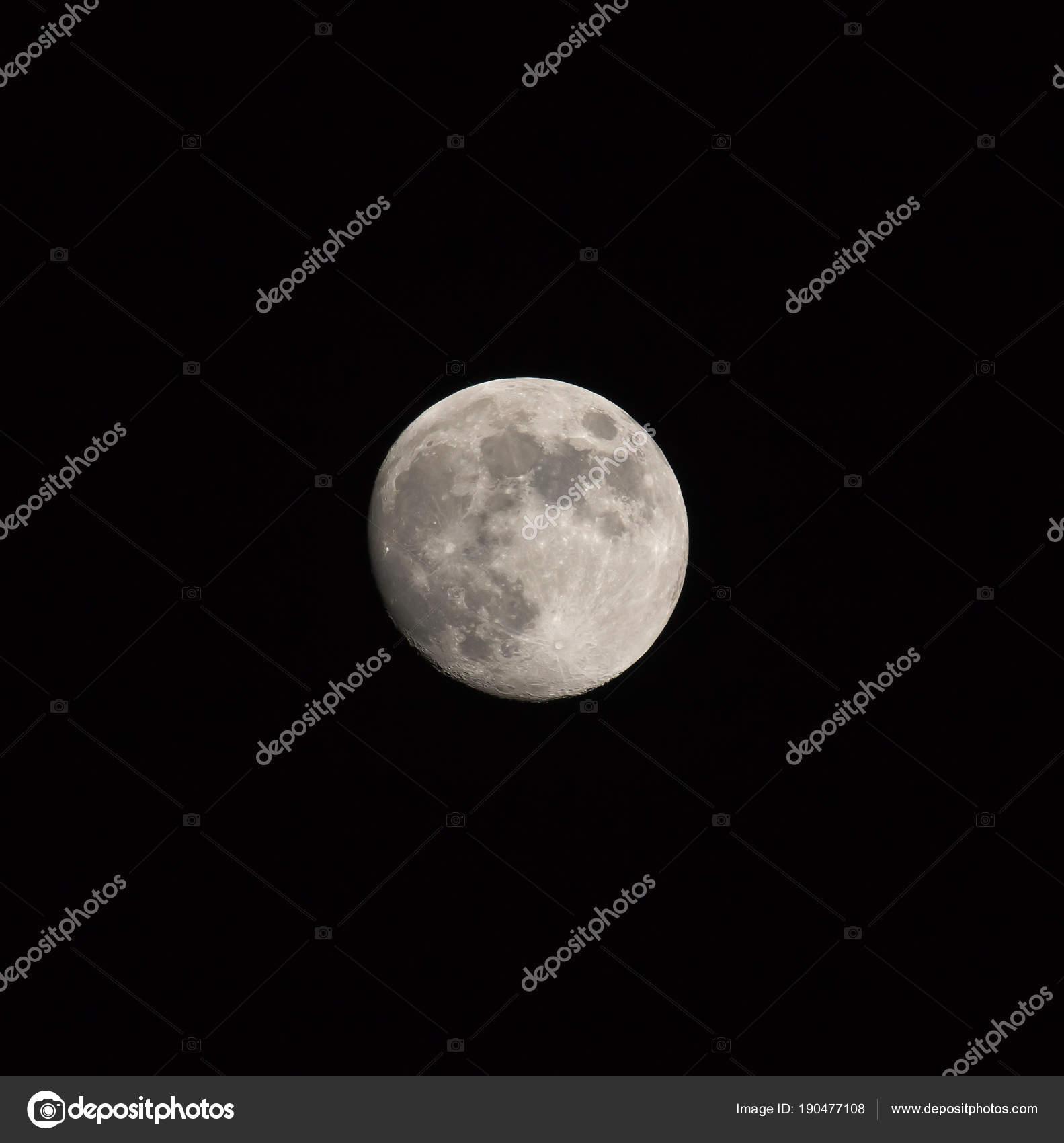 Imágenes: una luna creciente   Luna gibosa creciente aislado ...