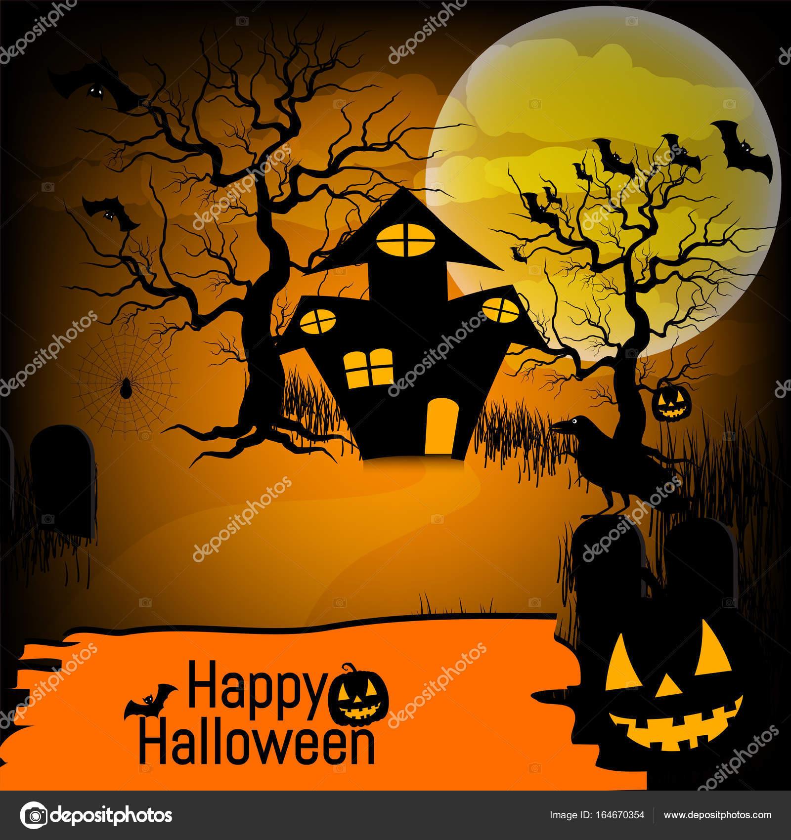 maison hantee pour l'halloween