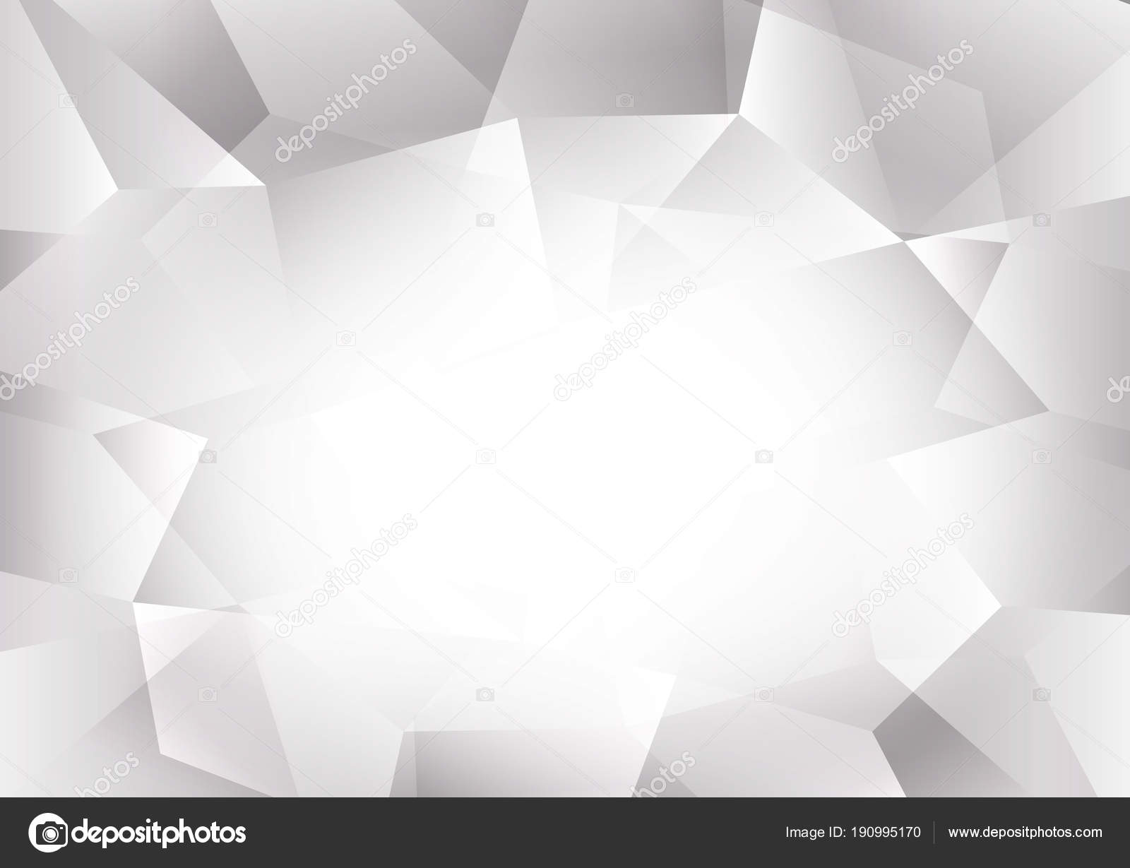 abstrait polygone couleur gris blanc avec espace copie vector