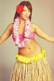Hawaiian Hula Tänzerin Mädchen