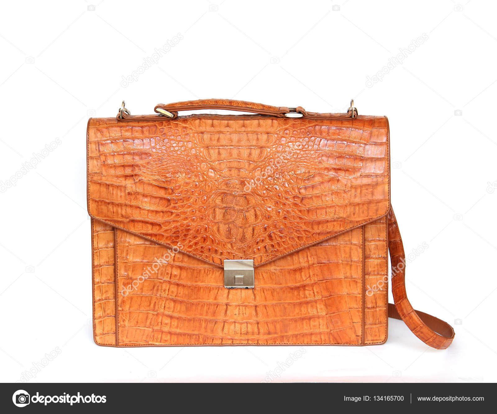 barna krokodil műbőr táska a nő vagy férfi a910169f71