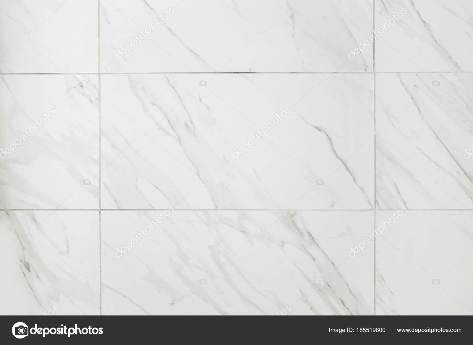 Large Marble Tile Bathroom Wall — Stock Photo © mcgphoto #185519800