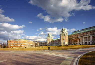 Restored Tsaritsyno Palace in Moscow