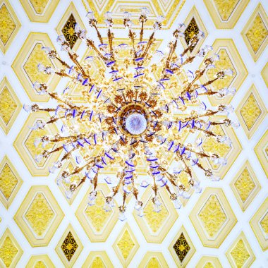 Chandelier in Tsaritsyno Palace