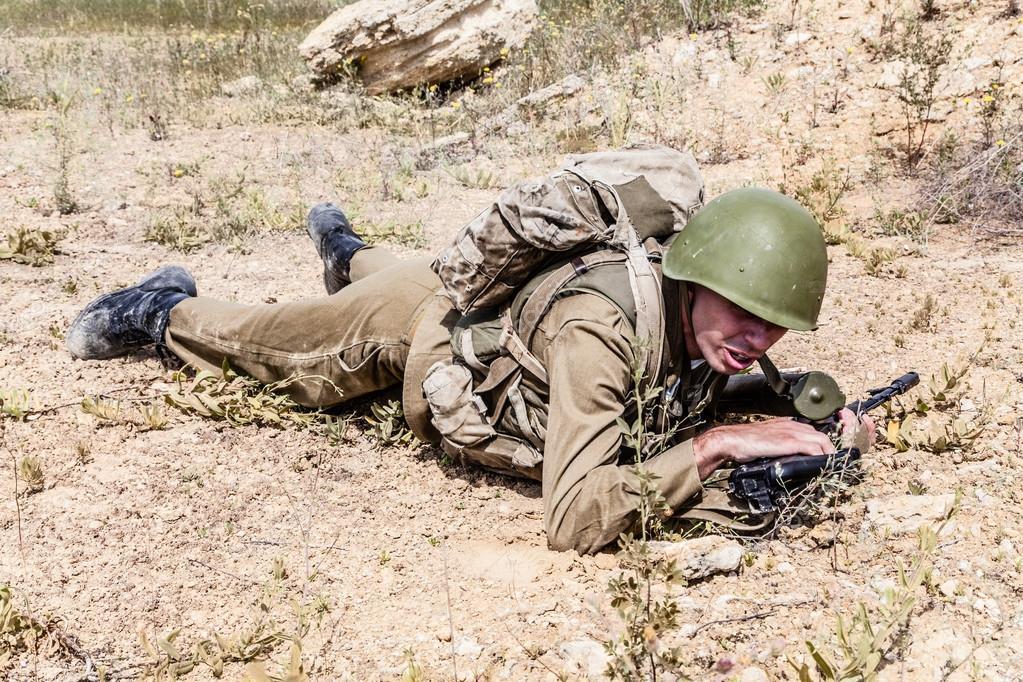 Soviet Spetsnaz in Afghanistan — Stock Photo © zabelin