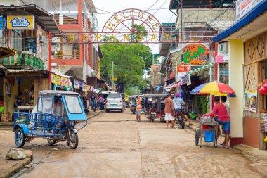 street view of Coron town