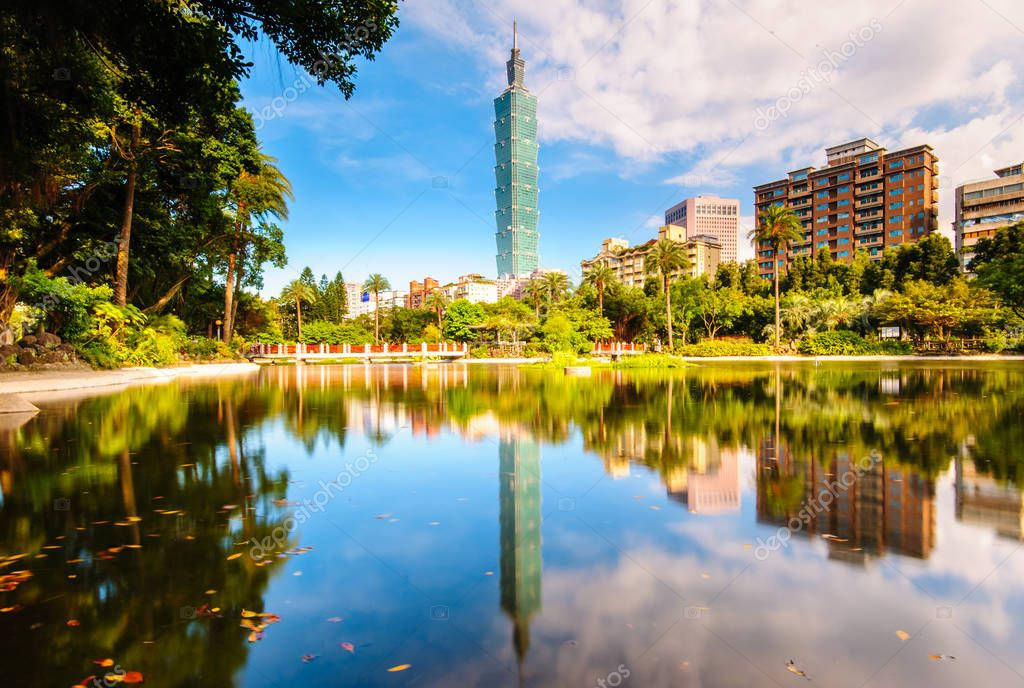 Beautiful park in Taipei