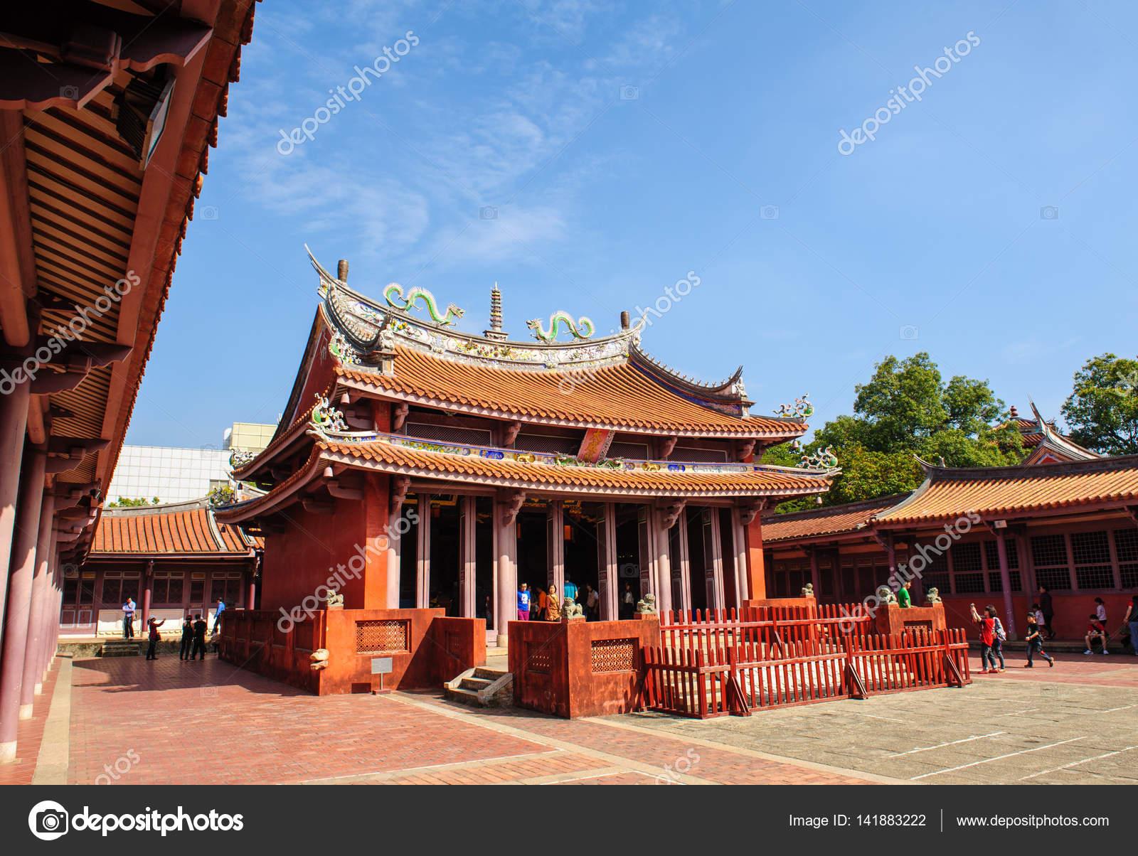 台南市の孔子廟 — ストック写真 ...