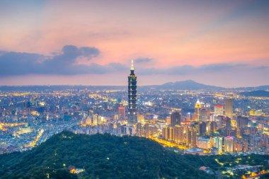 Aerial view of Taipei