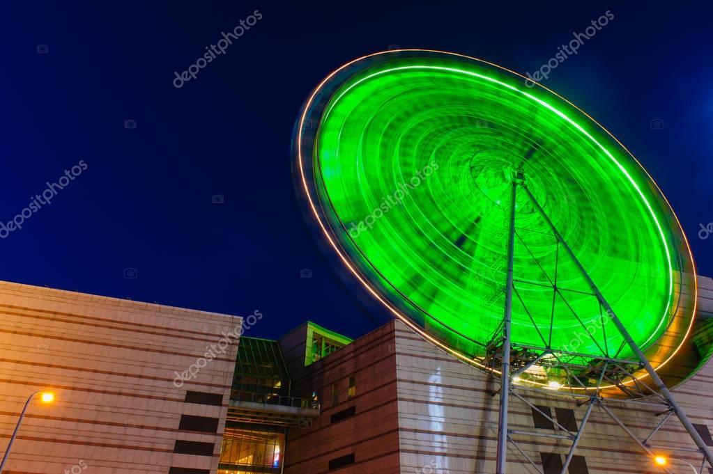 Ferris Wheel by Night in Taipei