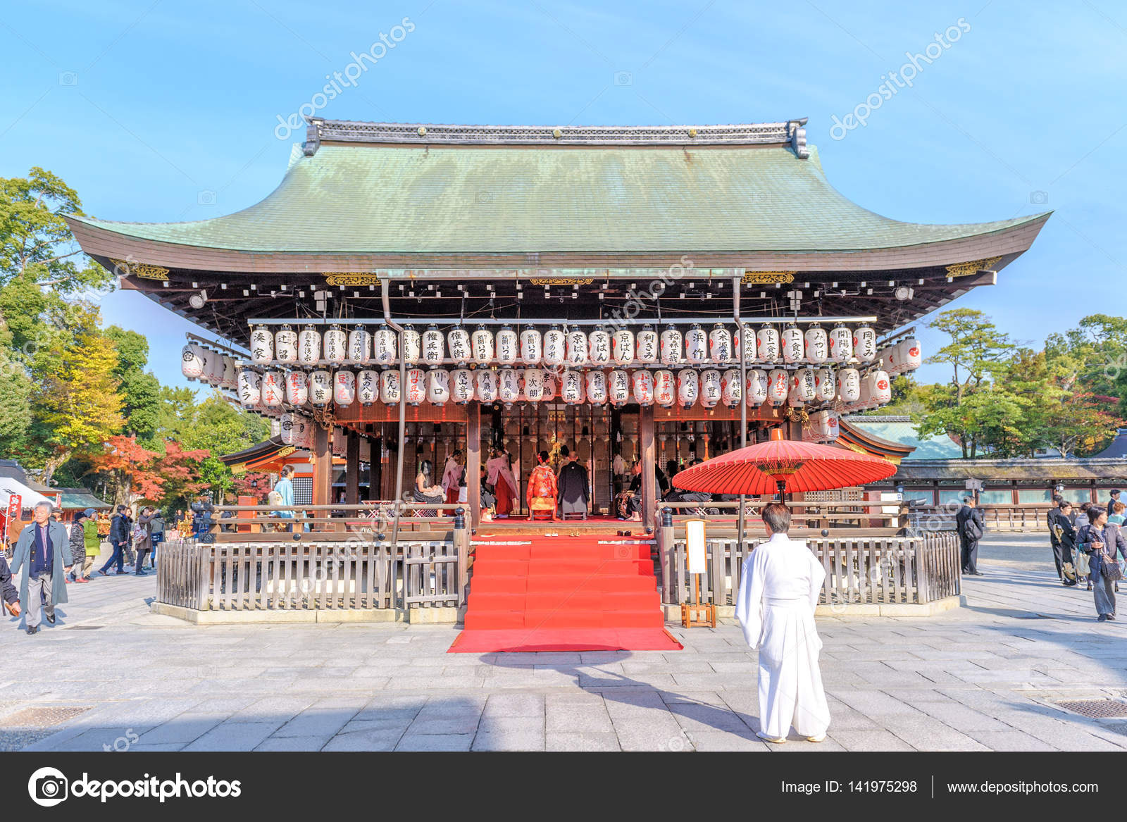 The Shinto Religion Is Native To Japan Stock Photo Richie - Shinto religion