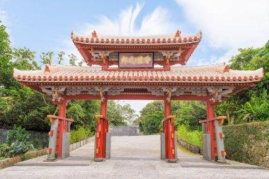 Shureimon gate of the Shuri in Okinawa