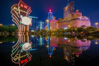 Night view of Macau