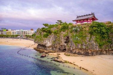 landscape of Naminoue Shrine in okinawa