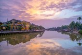 Landscape of Hoi An ancient town, Vietnam
