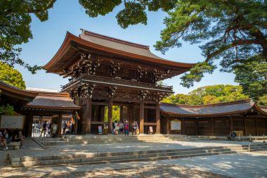 Meiji Shrine and the adjacent Yoyogi Park in Tokyo