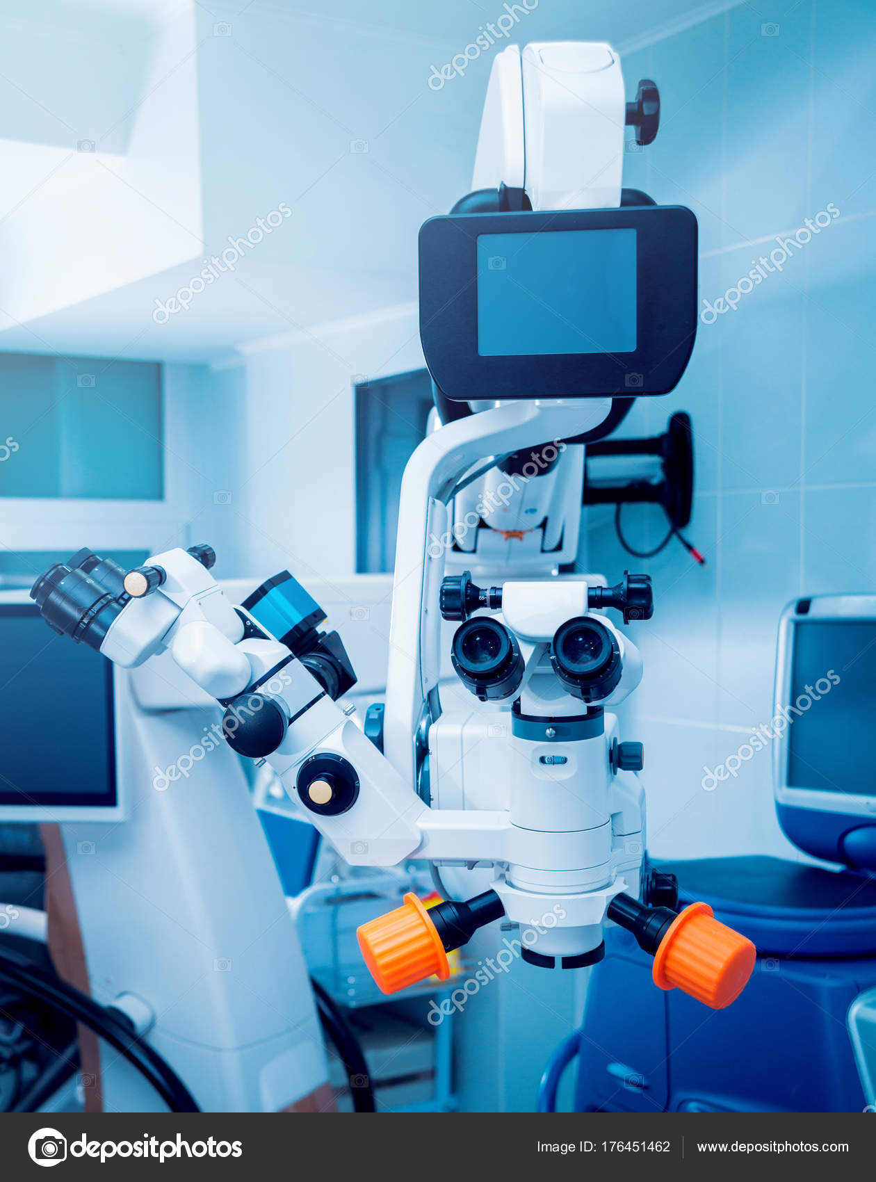Ophthalmic Equipment Medical Laboratory — Stock Photo