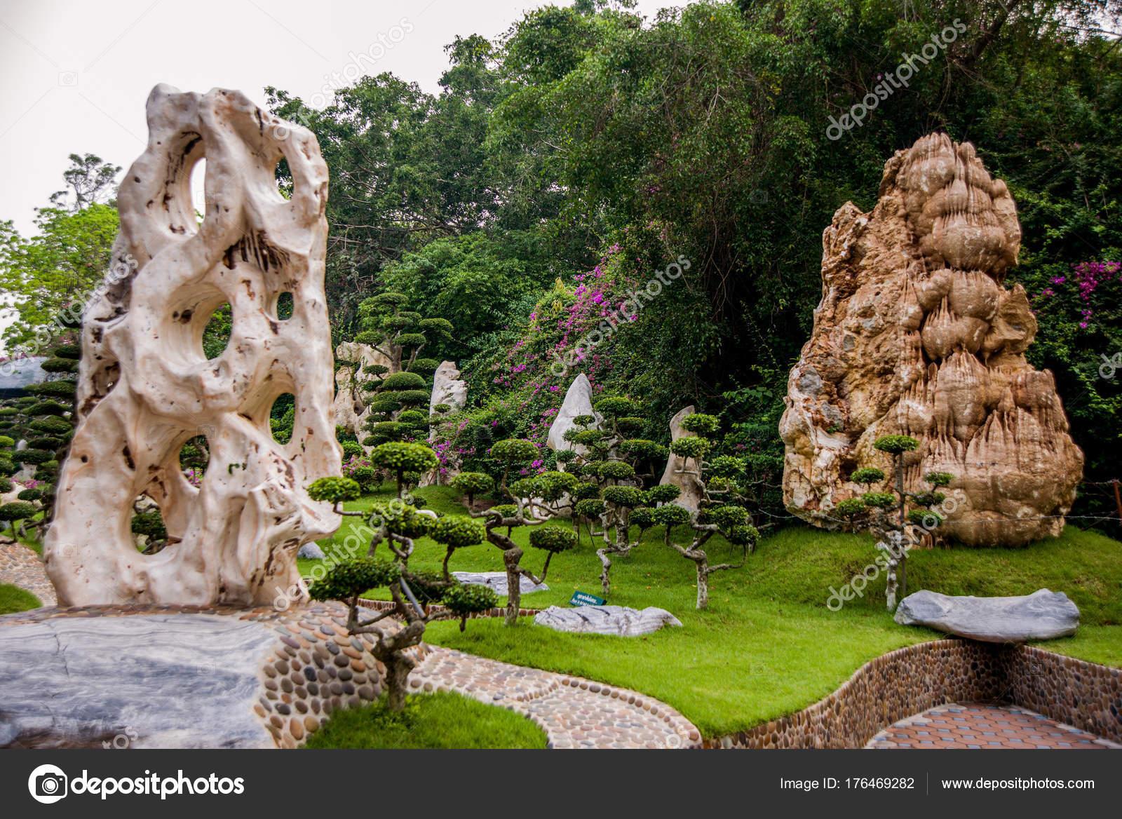 Beautiful Asian Landscape Traditional Architecture Garden Design