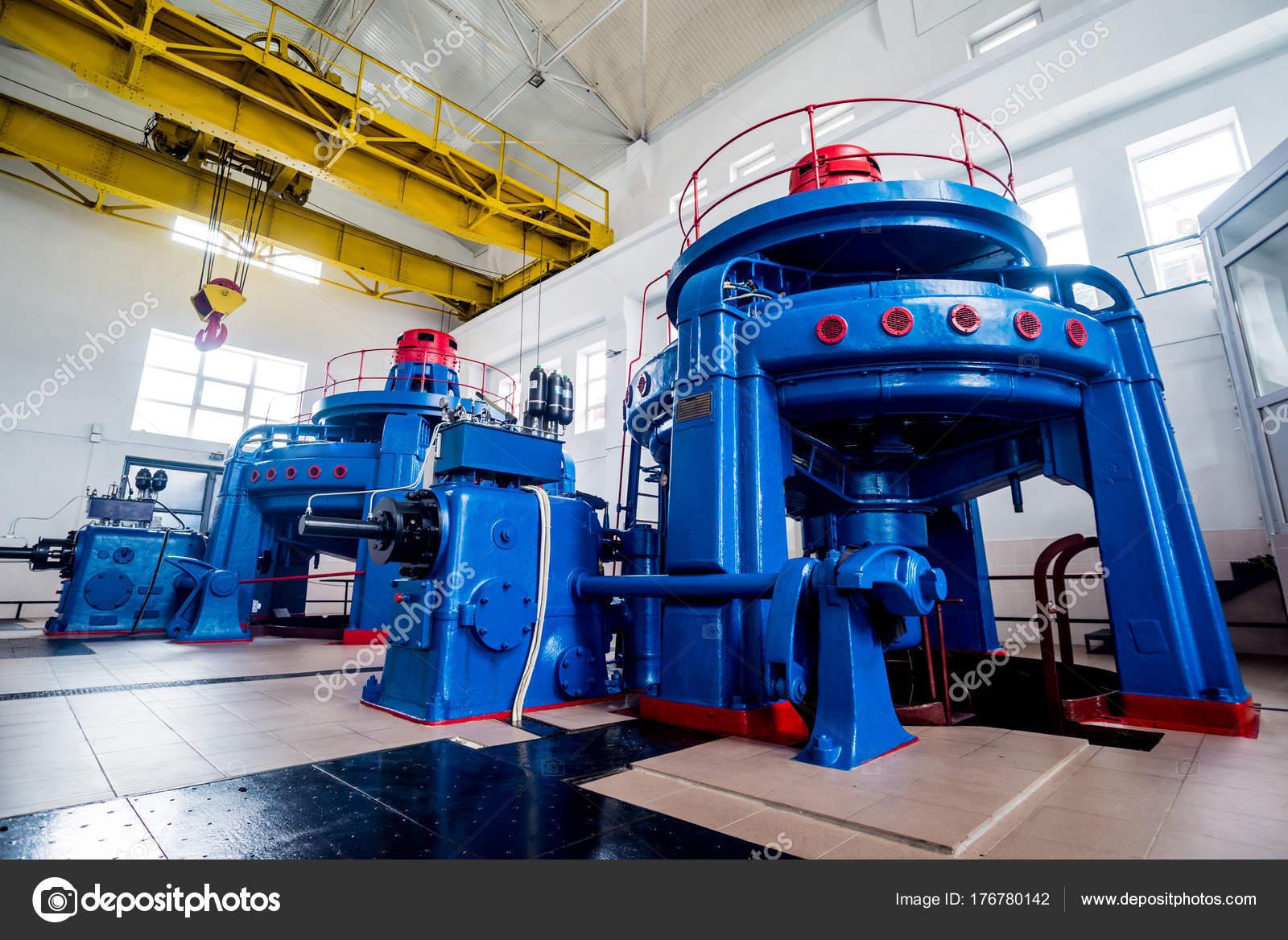 power plant generators.  Plant Turbine Generators Hydroelectric Power Plant Interior U2014 Stock Photo Inside
