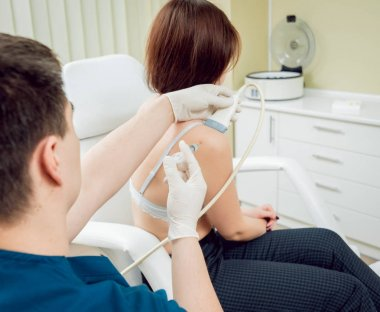 Ultrasound-guided platelet-rich plasma injection of the s