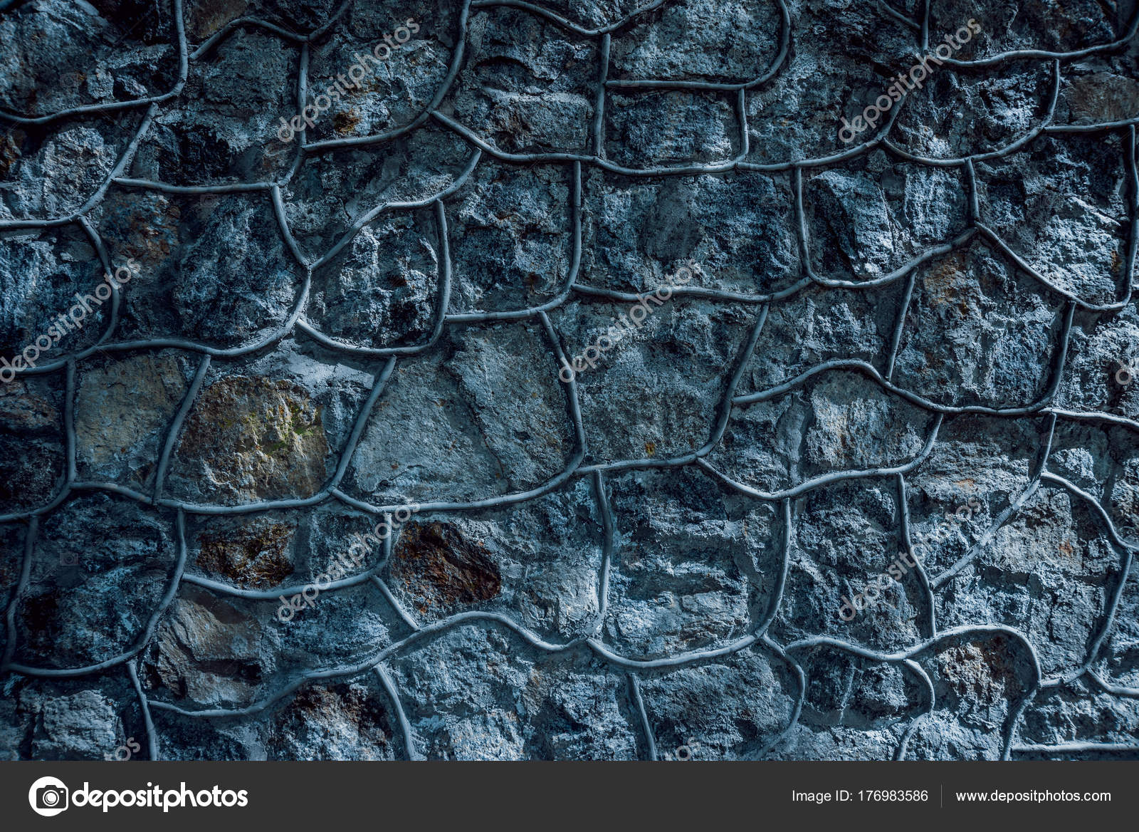Old Stone Wall Background Texture — Stock Photo © Romaset #176983586