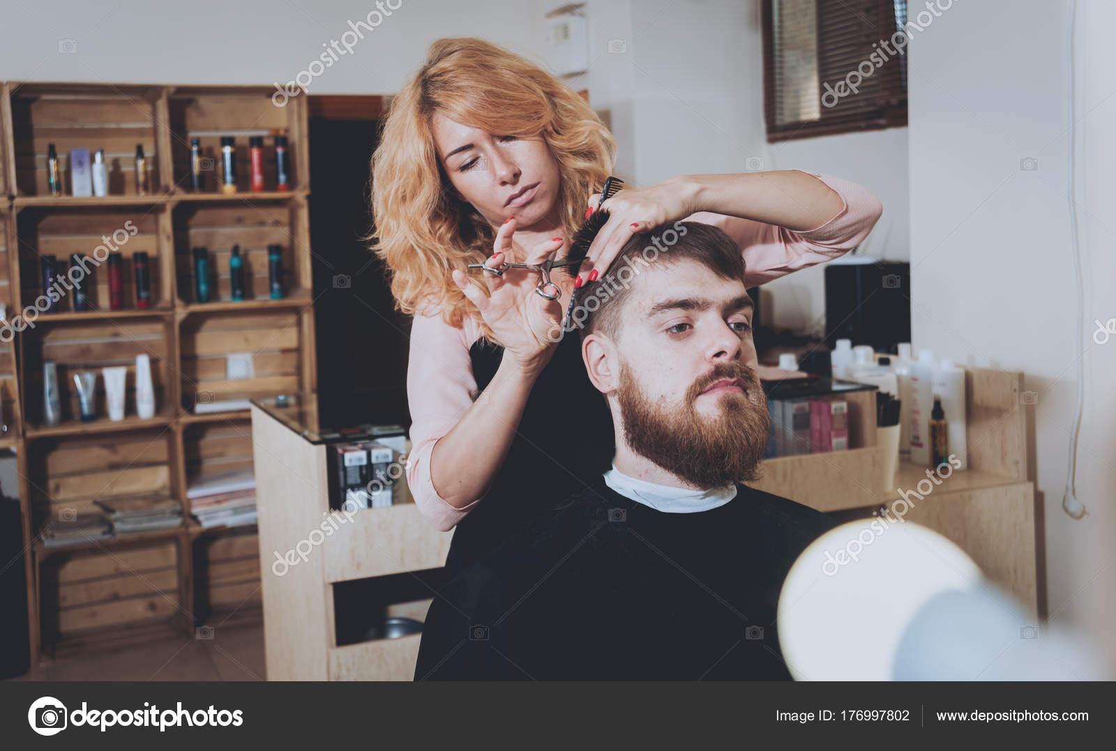 wie schneidet man haare männer