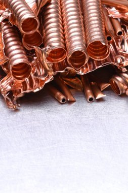Scrap of copper for recycling