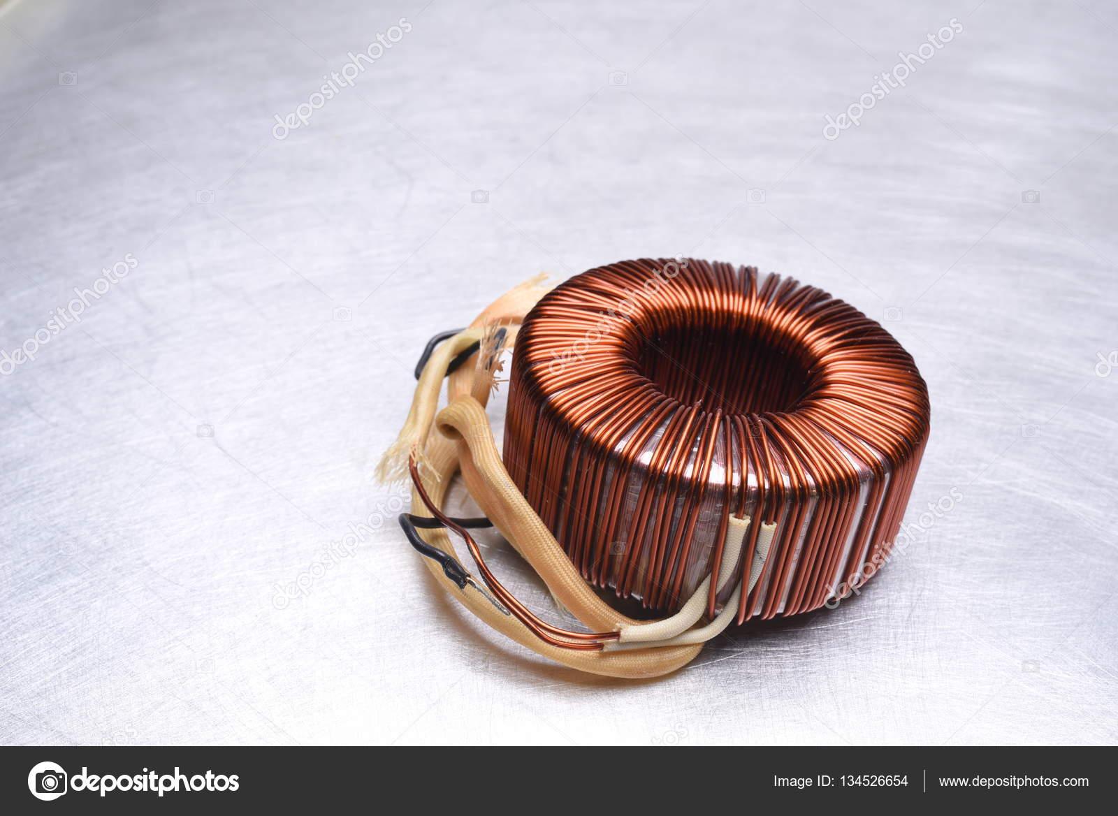 Copper Coils Transformer — Stock Photo © Zetor2010 #134526654