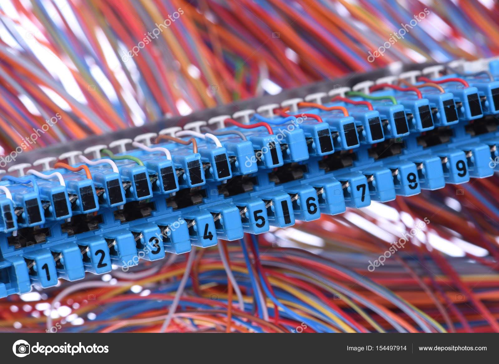 Telekommunikationsgeräte, Hauptverteiler — Stockfoto © Zetor2010 ...