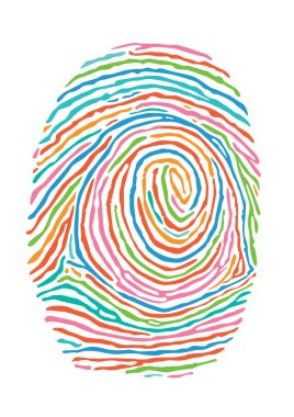 Color fingerprint. Secure identification