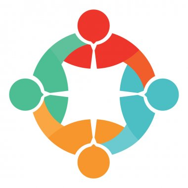 Association icon, team symbol