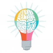 Fotografie Enlightenment Brain concept