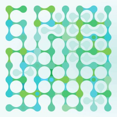 Molecular Gene, green, abstract