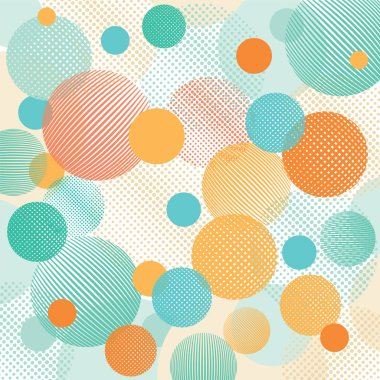 Geometric dots illustration