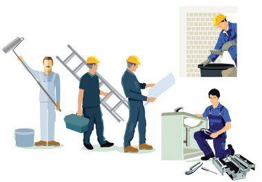 Craftsman, installer, plumber and architect