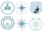 Traditional maritime Nautical labels